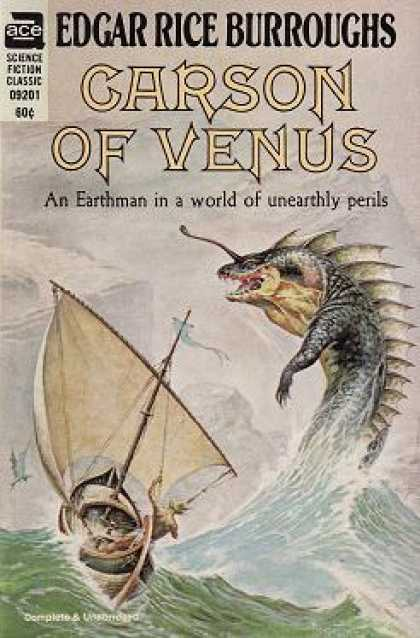 Ace Books - Garson of Venus - Edgar Rice Burroughs