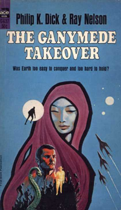 Ace Books - The Ganymede Takeover - Philip K. Dick