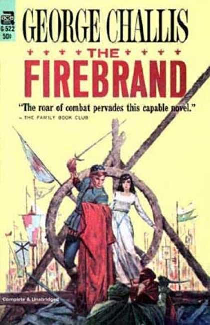 Ace Books - The Firebrand - George Challis