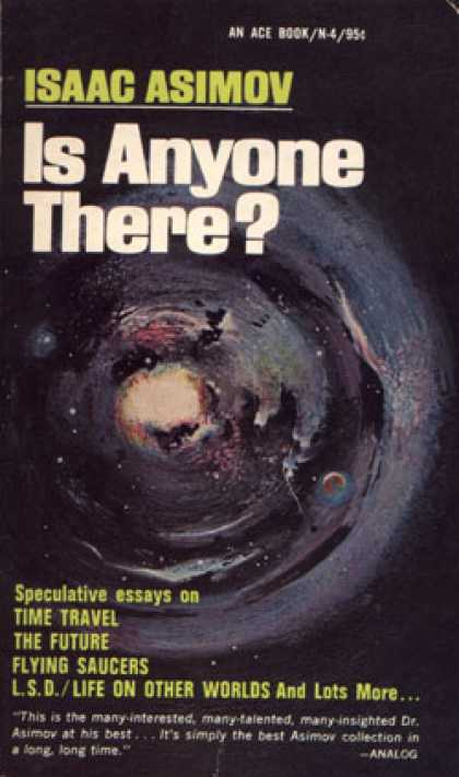 Ace Books - Is Anyone There? - Isaac Asimov