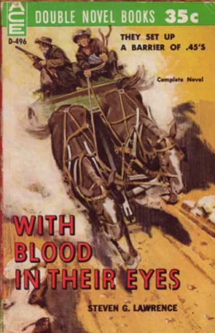 Ace Books - Killer's Canyon / With Blood In Their Eyes - Tom West