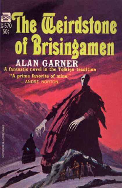 Ace Books - The Weirdstone of Brisingamen - Alan Garner