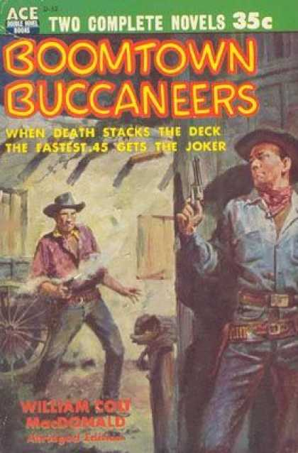 Ace Books - Boomtown Buccaneers - William Cory MacDonald