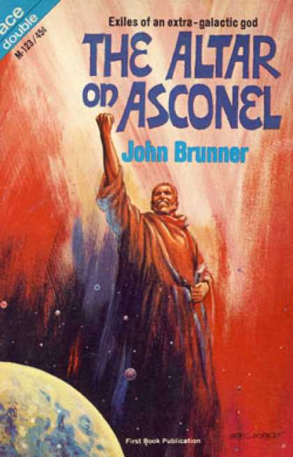 Ace Books - Android Avenger/the Altar On Asconel - John Brunner