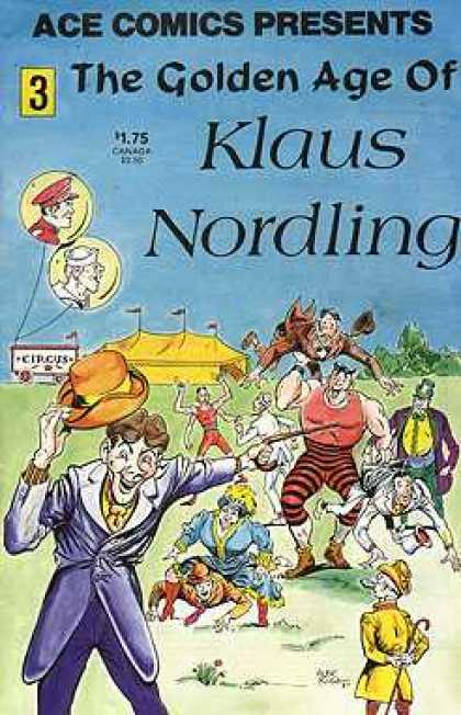 Ace Comics Presents 3 - The Golden Age Of - Klaus Nordling - Circus - Hat - Baffon