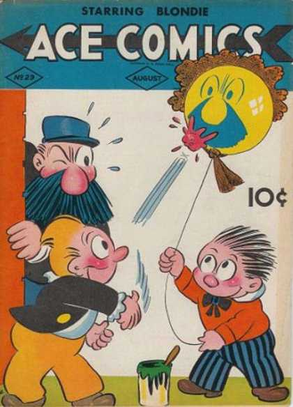 Ace Comics 29 - August - Bubblegum - Balloon - Blondie