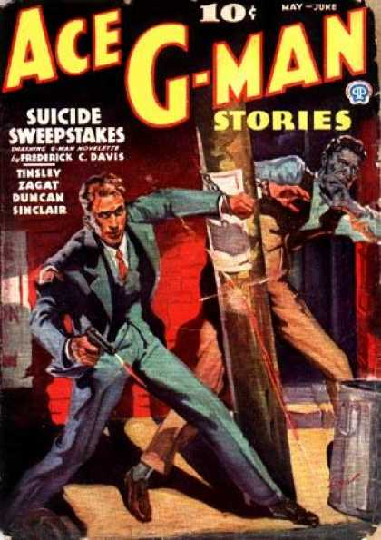 Ace G-Man Stories - 5/1936