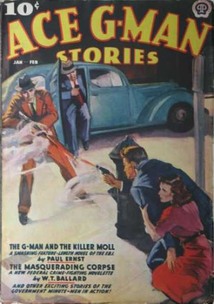 Ace G-Man Stories - 2/1938