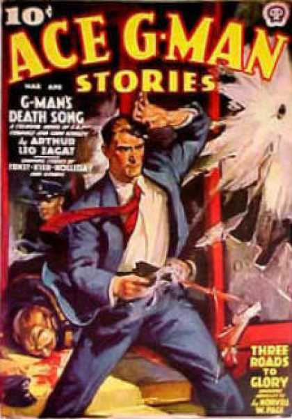 Ace G-Man Stories - 4/1938