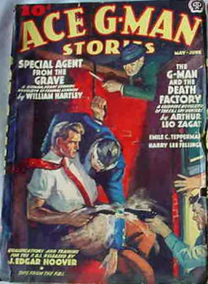 Ace G-Man Stories - 6/1938