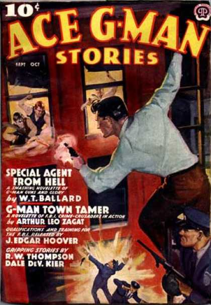 Ace G-Man Stories - 9/1938