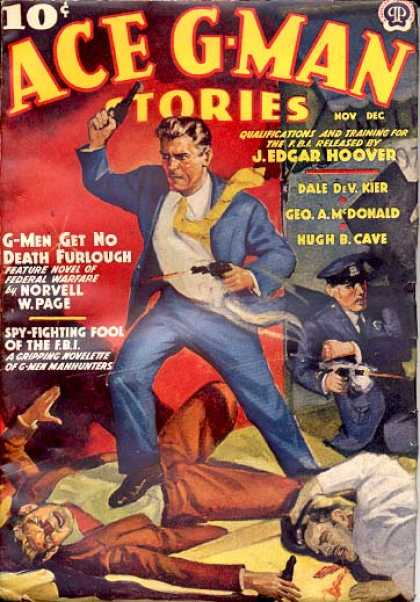 Ace G-Man Stories - 11/1938