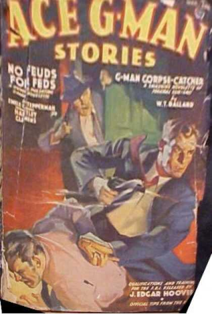 Ace G-Man Stories - 3/1939