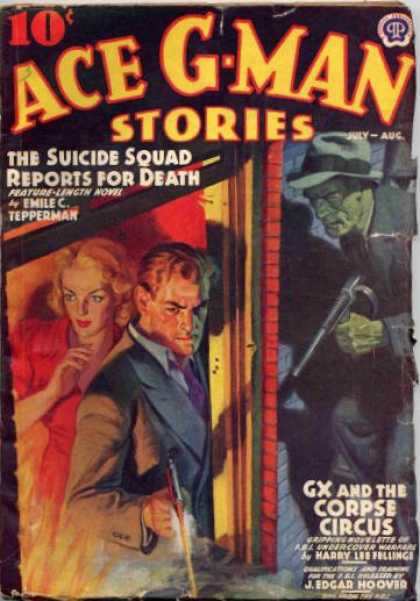 Ace G-Man Stories - 8/1939