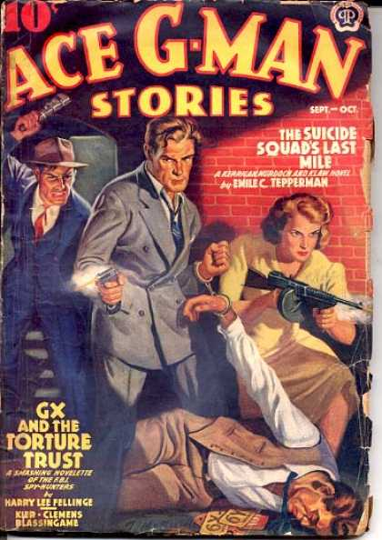 Ace G-Man Stories - 9/1939