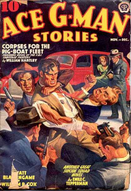 Ace G-Man Stories - 11/1939