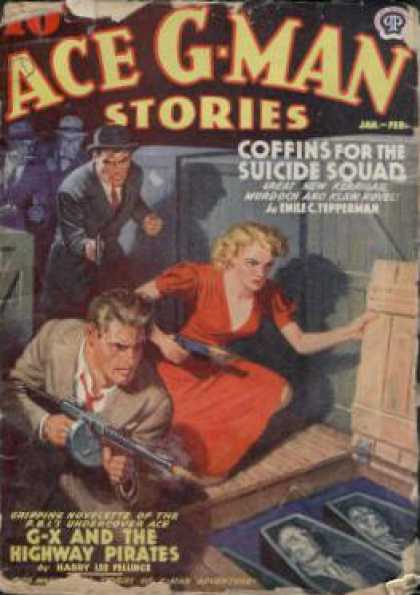 Ace G-Man Stories - 2/1940