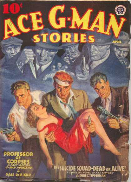 Ace G-Man Stories - 4/1940
