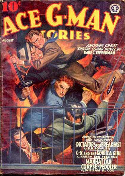 Ace G-Man Stories - 8/1940