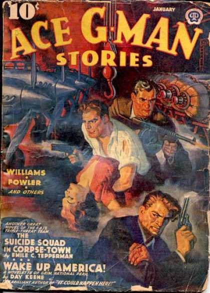 Ace G-Man Stories - 1/1941