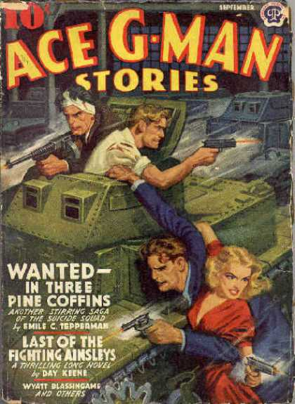 Ace G-Man Stories - 9/1941