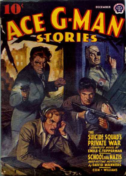 Ace G-Man Stories - 12/1941