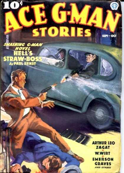 Ace G-Man Stories - 9/1936