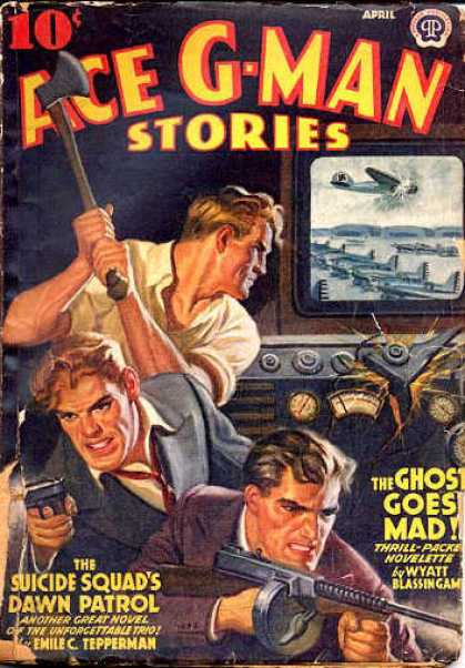 Ace G-Man Stories - 4/1942