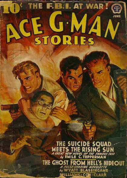 Ace G-Man Stories - 6/1942