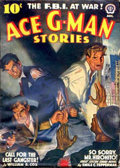 Ace G-Man Stories - 8/1942