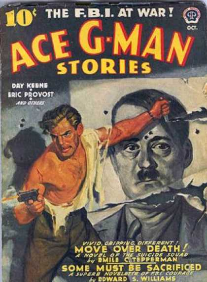 Ace G-Man Stories - 10/1942