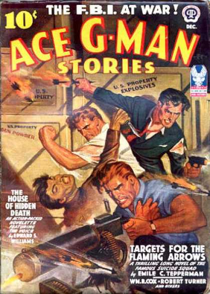 Ace G-Man Stories - 12/1942