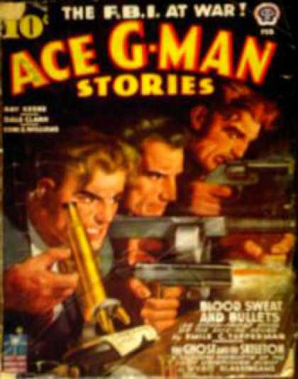 Ace G-Man Stories - 2/1943