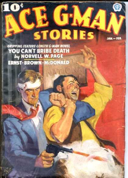 Ace G-Man Stories - 1/1937