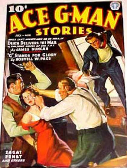 Ace G-Man Stories - 8/1937