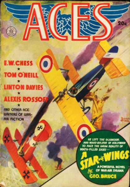 Aces (Pulp) - Winter 1937
