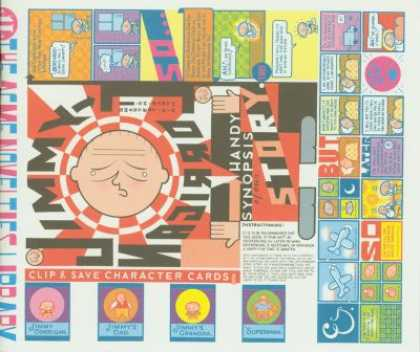 Acme Novelty Library 11 - Story - Jimmy - Handy - Synopsis - Arabic - Chris Ware