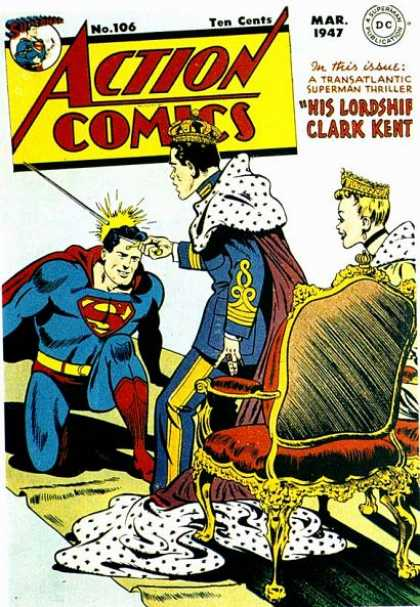 Action Comics 106 - Superman - King - Crown