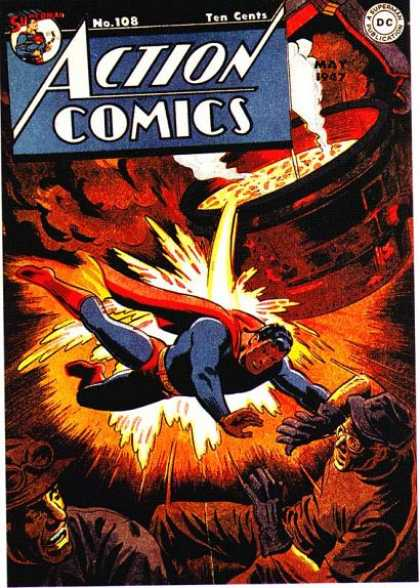 Action Comics 108 - Superman - Action Comics - Action Hero - Wilian - Hot