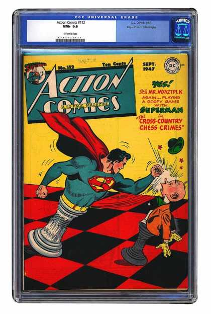 Action Comics 112 - Chess