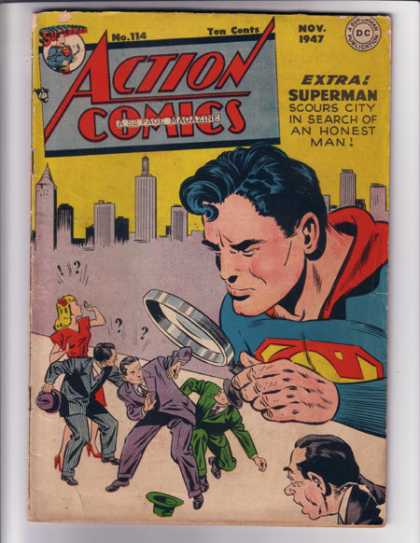 Action Comics 114 - Superman