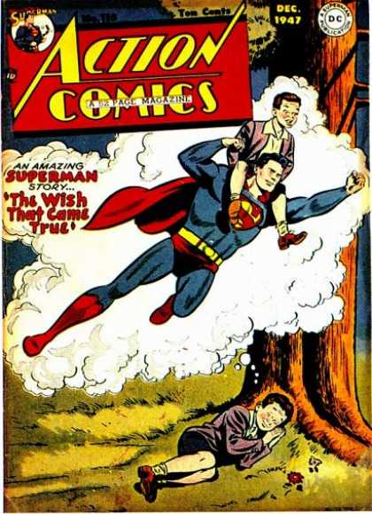 Action Comics 115 - Superman - Dream - Boy - The Wish That Came True - Tom Coats