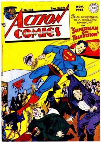 Action Comics 126 - Television - Superman - Hat - November - Superhero