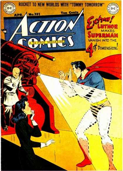 Action Comics 131 - Superman - Ray - Lex Luthor - Tommy Tomorrow - Apr No 131