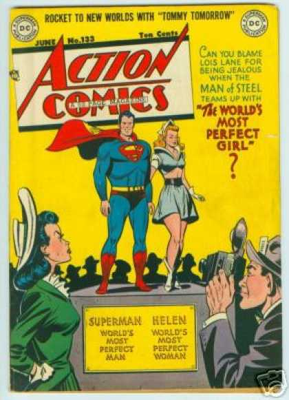 Action Comics 133 - Superman - Perfect - Lois Lane - Helen - Photographer