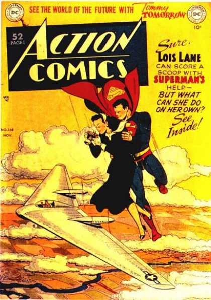 Action Comics 138 - Lois Lane - Superman