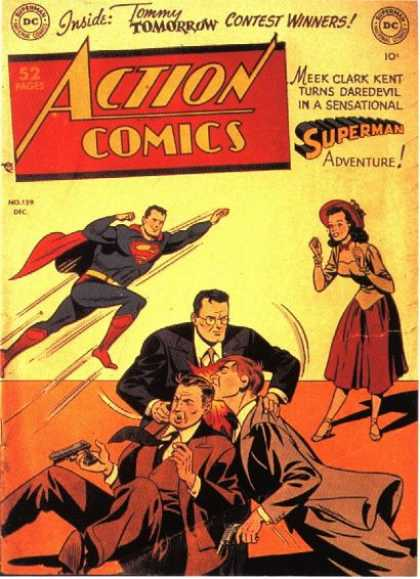 Action Comics 139 - Superman - Clark Kent