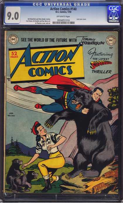 Action Comics 140 - Bear - Cubs