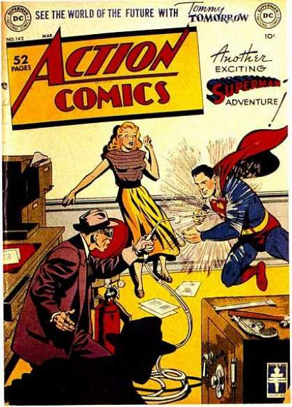 Action Comics 142 - Superman - Safe - Dc - National Comics - Tommy
