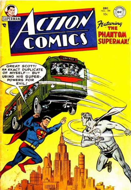 Action Comics 199 - Bus - Ghost